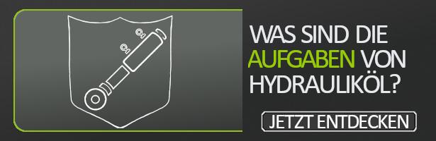 Was sind die Aufgaben von Hydrauliköl?