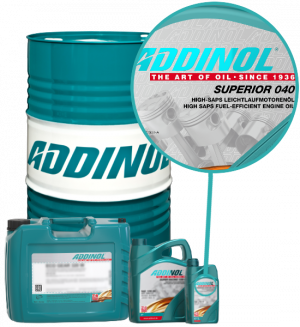 ADDINOL Motoröl 0W40 Superior 040