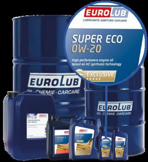 Eurolub Motoröl 0W20 Super Eco 0W-20
