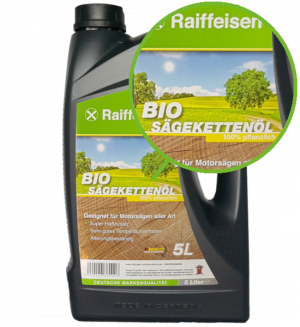 Raiffeisen Sägekettenöl biologisch