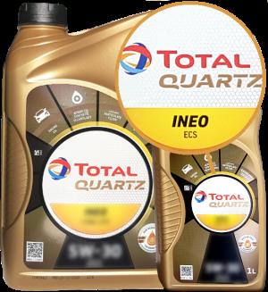 Total Motoröl 5W30 Quartz Ineo ECS Fuel Economy 5W-30